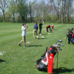 Cottonwood Creek in Sylvania provides wooded mature course
